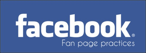Facebook-fan-page-practices